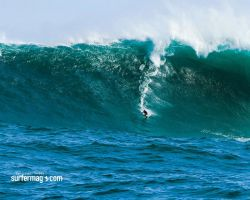 big wave surfing